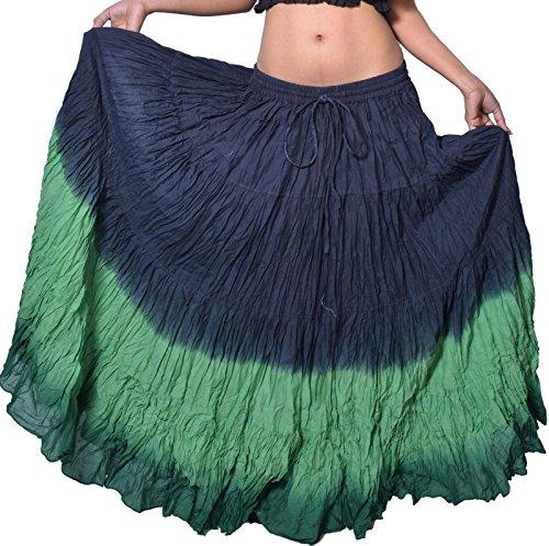 Wevez Stunning Tribal Belly Dance Fusion 12 Yards Skirt - Skirt Sold Separately