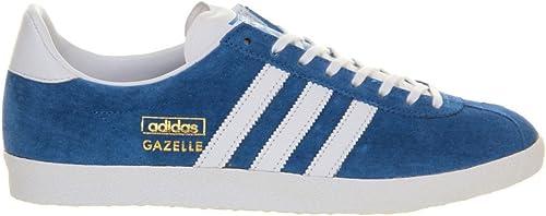 adidas Gazelle OG Red Black Blue Mens Trainers