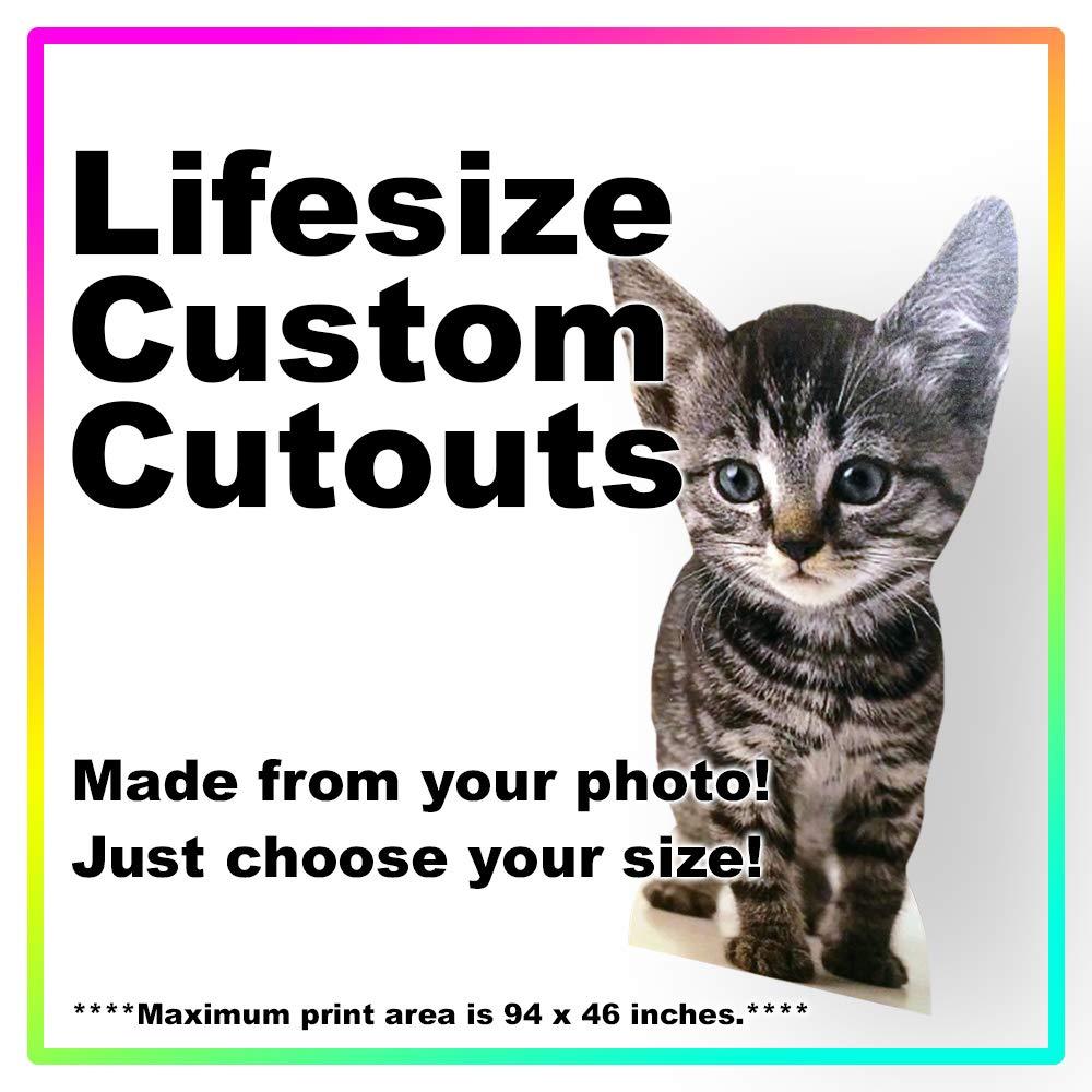 Lifesize Custom Cardboard Cutout Standee - Your Photo Life Size