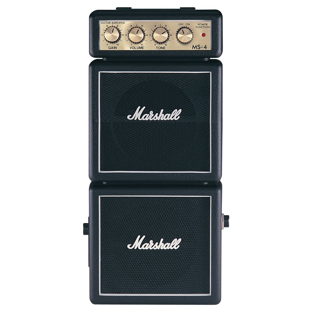 Marshall MS4 Mini Micro Full Stack Battery Amplifier Marshall Amplification M-MS-4-U
