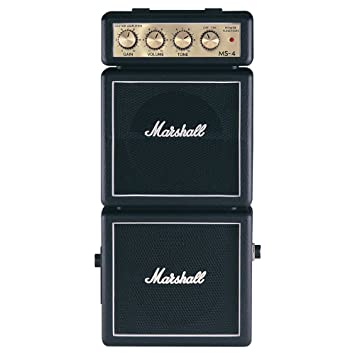 142899d4bae Marshall MS4 Micro Amplifier Stack - Black  Amazon.co.uk  Musical ...
