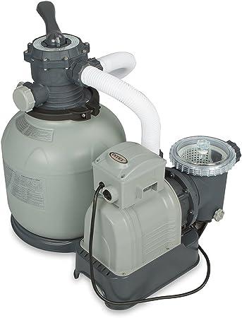 Amazon.com: Intex Bomba de filtro de arena con GFCI (110 a ...