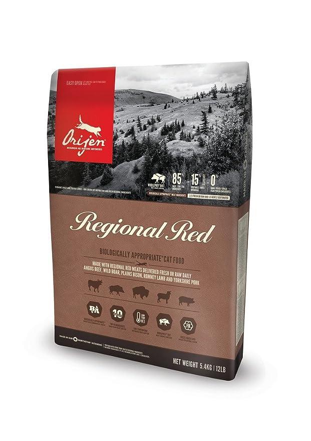 Orijen Regional Red Comida para Gatos - 5400 gr