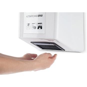 Händetrockner gibt es auch in kleinerer Ausführung.