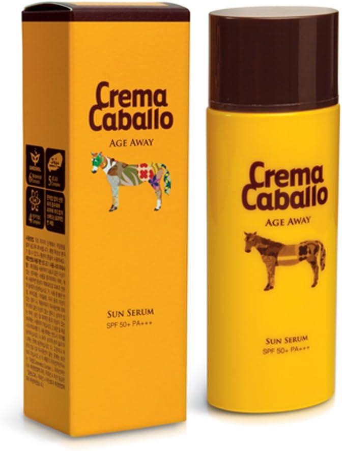 Crema caballo jaminkyung crema caballo edad Away sol Suero SPF 50+ Pa + + + 50ml (Blanqueamiento y antiarrugas cuidado% protección solar)