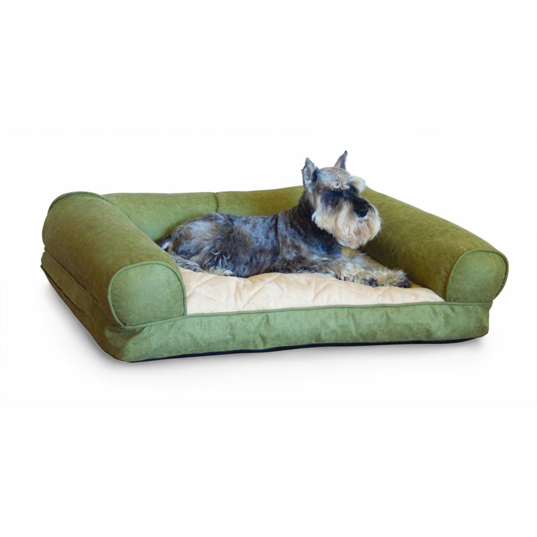 Amazon K&H Lazy Small Sofa Sleeper Green 25 Inch by 19