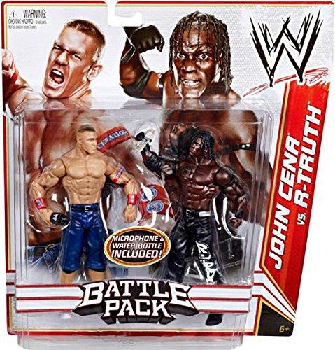 WWE Battle Pack: John Cena vs. R-Truth Figure 2-Pack (Figure R Truth)