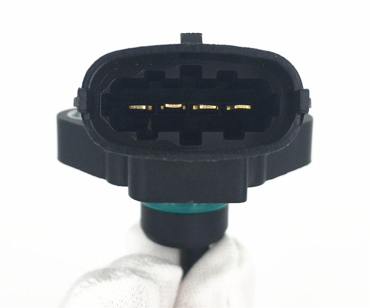 HZTWFC MAP Sensor Intake Manifold Air Pressure MHK100640 0281002205