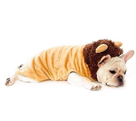 selmai Chihuahua Ropa Traje de Cosplay disfraz de perro León ...