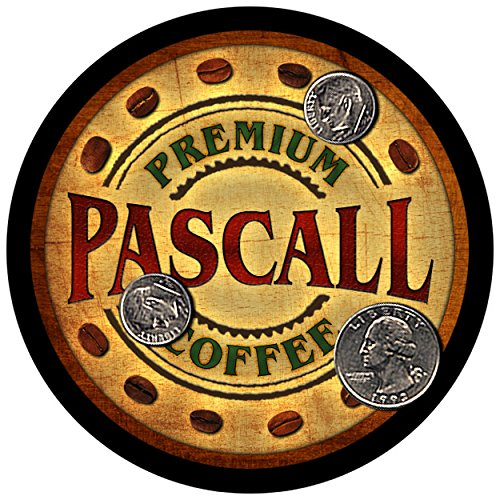 pascall-family-coffee-rubber-drink-coasters-set-of-4
