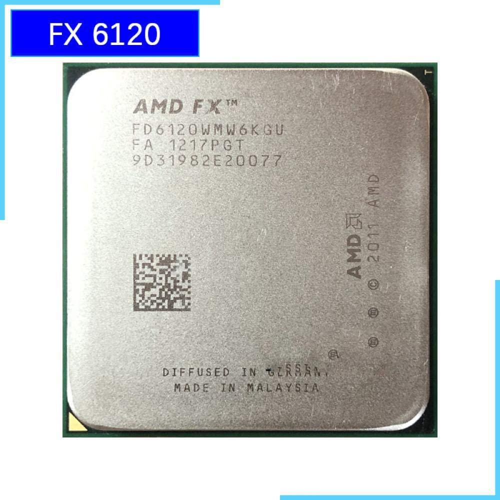 AMD FX-Series FX-6120 FX 6120 3.5 GHz Six-Core CPU Processor FD6120WMW6KGU Socket AM3+