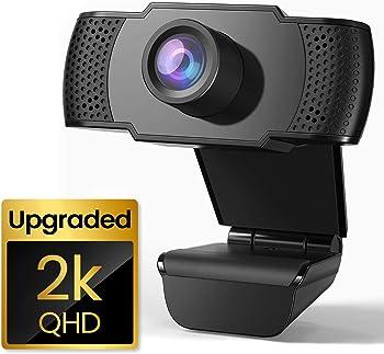 Sesern 2K QHD 1440P PC Laptop Desktop USB Webcam