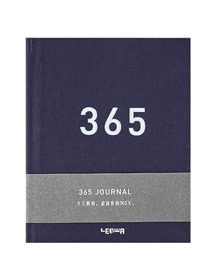 ZXSH Cuaderno Agenda Agenda Planificador Diario 365 Días ...