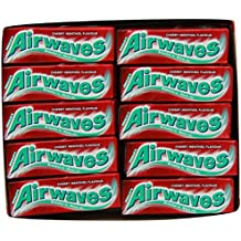 Airwaves Cherry Menthol Gum. Case of 30 Packs