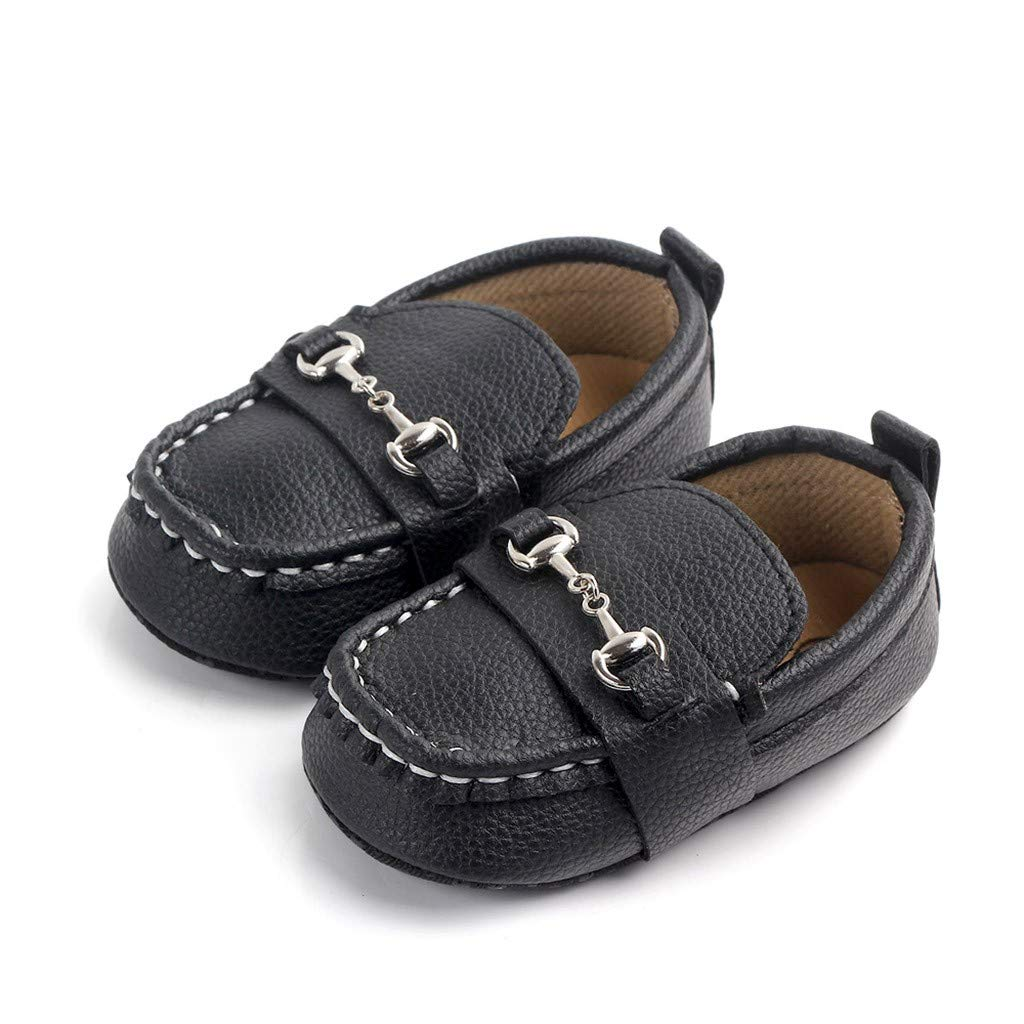 Pandaie Baby Boy /& Girl Shoes / Newborn Baby Girls Boys Toddler Metal First Walkers Soft Sole Shoes