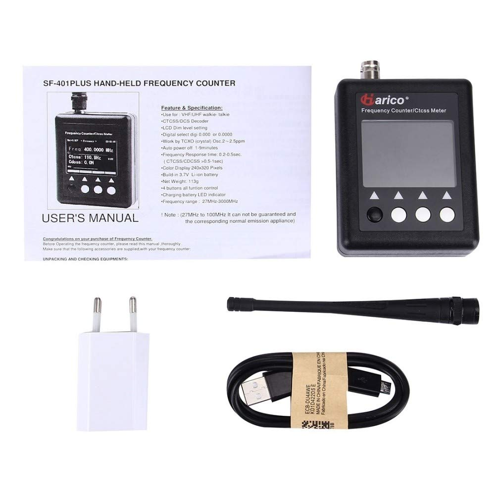 Compteur de fréquence Portable Pour Talkie-walkie, fréquence  27MHz-3000 27MHz-3000  MHz 0760bb