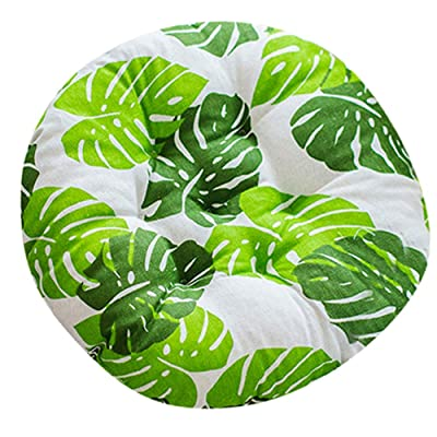 Alalaso Round Outdoor Bistro Chair Cushion in Painted, Jamboree: Clothing