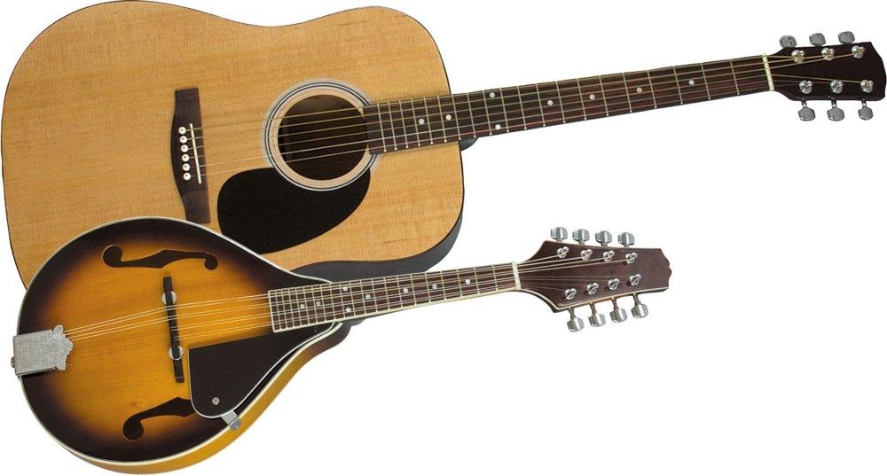 Rogue アコースティックギター and Mandolin Pack Natural Sunburst アコースティックギター アコギ ギター (並行輸入)   B0064BJI34