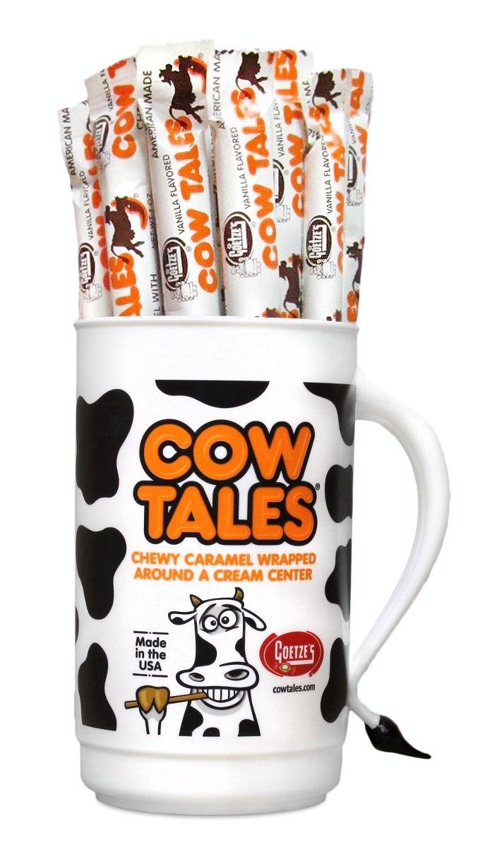 Amazon Com Goetze S Cow Tales Candy Tumbler Chocolate
