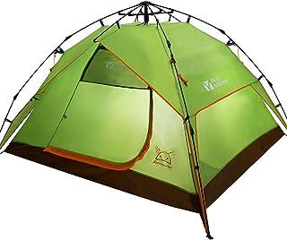 Outdoor Gear parcs et reprise Outdoor équipement de camping 3–4personnes Tente automatique Quart Windproof Camping
