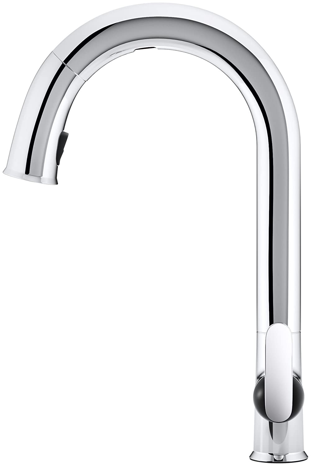 KOHLER K-72218-B7-CP Sensate Touchless Kitchen Faucet, Polished ...