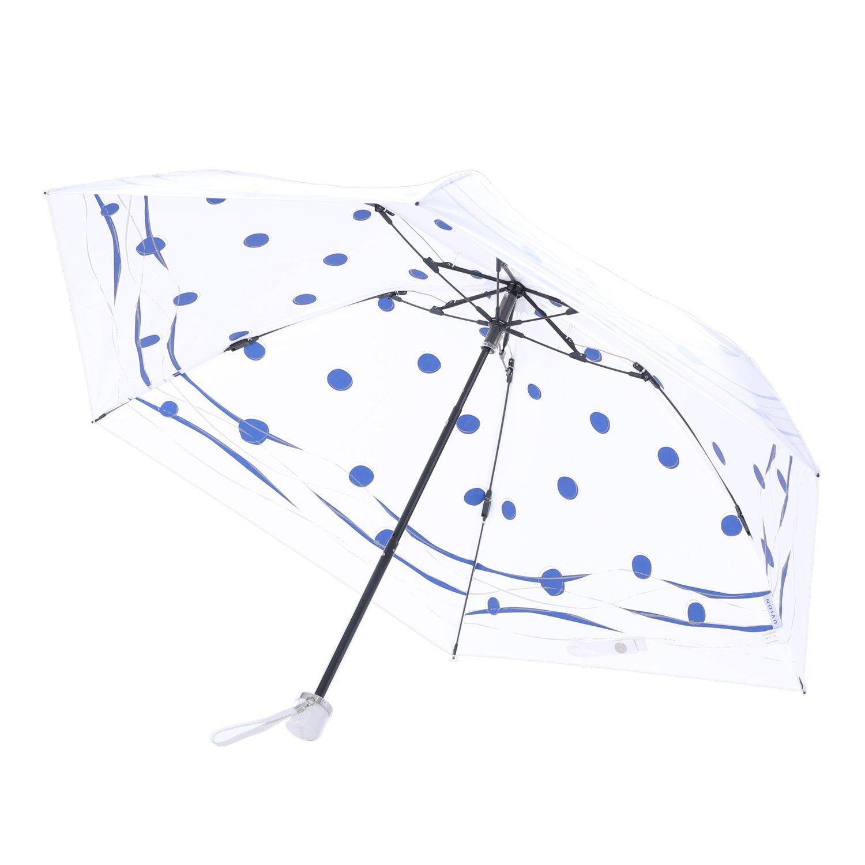 UVION(ユビオン) PREMIUM WHITE プレミアムホワイト ミズベ 折りたたみ傘 UVカット 晴雨兼用傘 B07D2ZSNLCネイビー