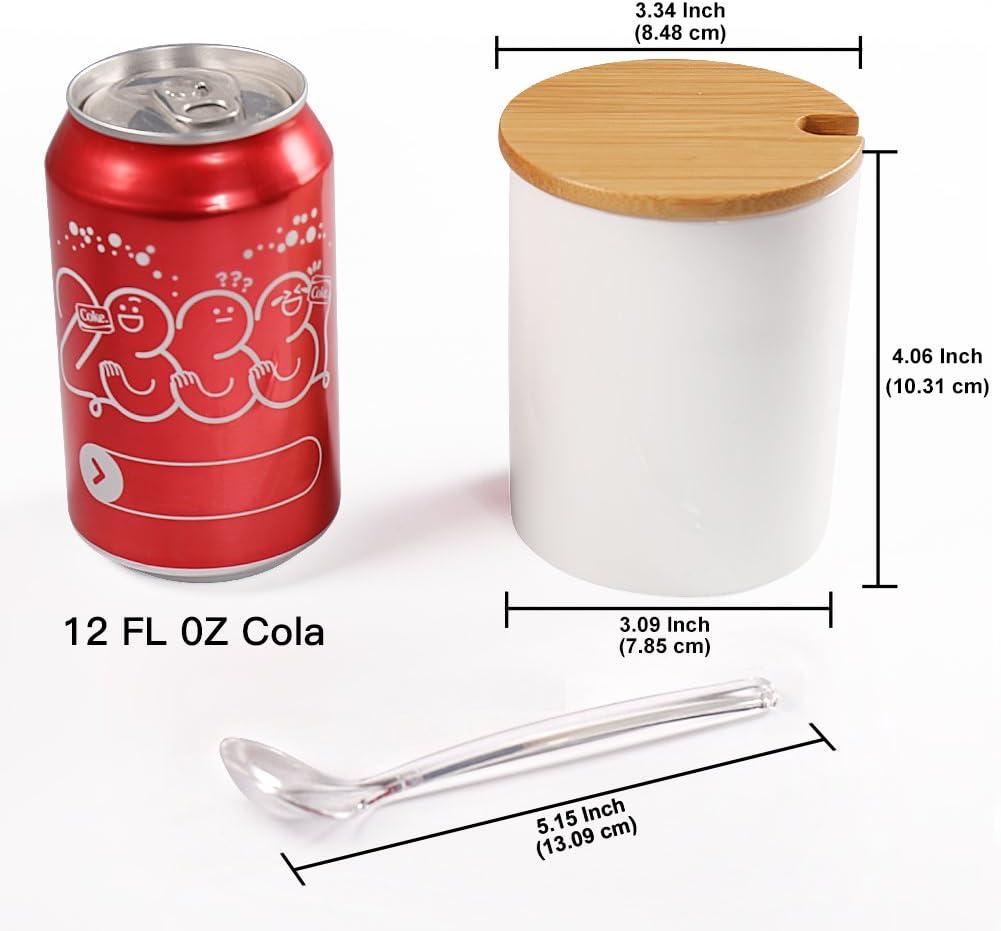 2 barriles De Sal Y Pimienta Con Tapa Y Cuchara Fuente De Mesa Super Moderno Comedor