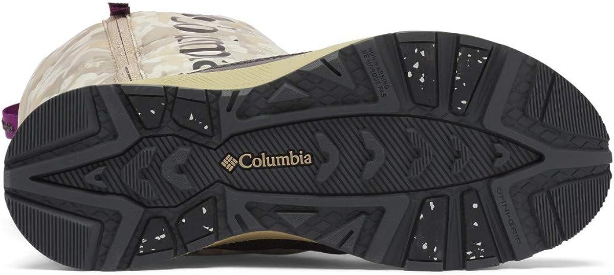 Columbia Paninaro Omni-Heat Botas altas para nieve para mujer Bronceado Oxford Gris Oscuro ysnCr