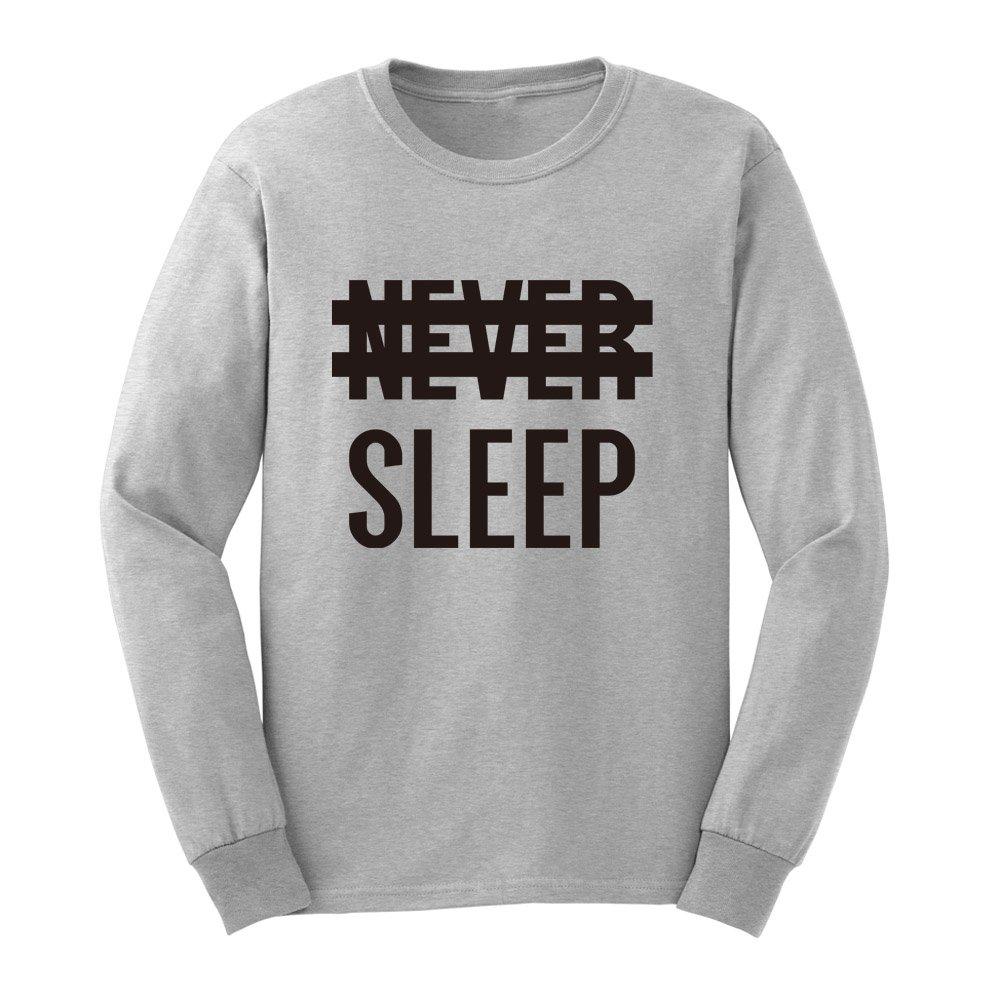 Loo Show S Never Sleep Graphic Adult T Shirts Casual Tee