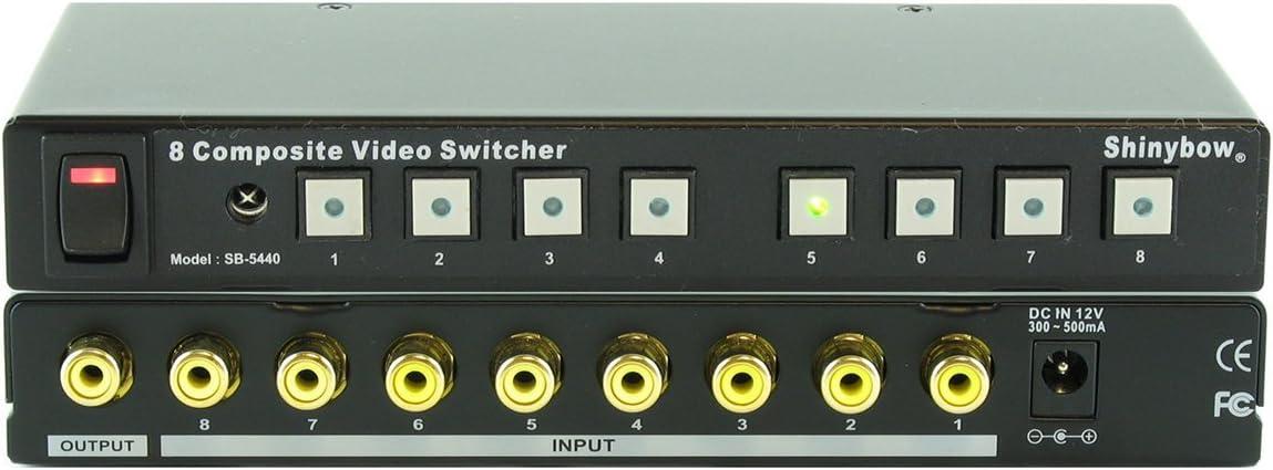 RCA w// IR Remote control SB-5440RCA 8x1 Composite Video Switcher