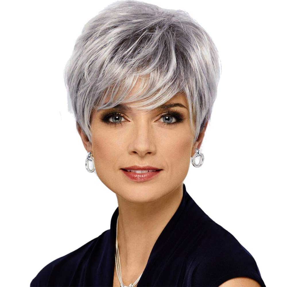 HAIRCUBE Pixie Cut Human Hair Wigs for Women