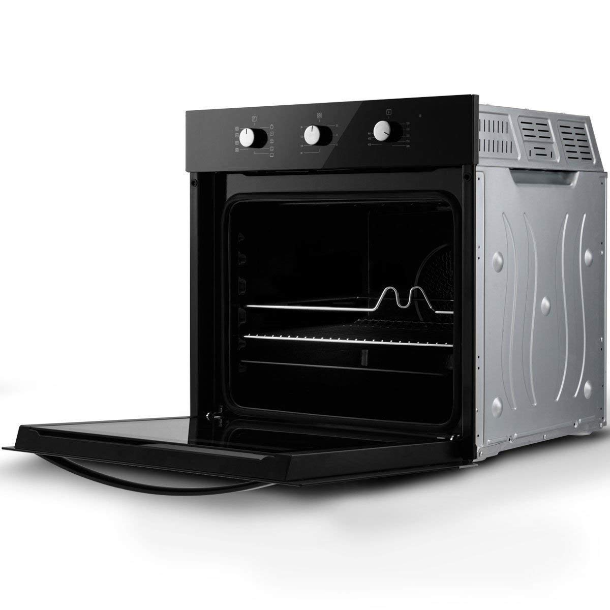 """24"""" Electric Built-in Single Wall Oven 220V Buttons Control BeUniqueToday"""
