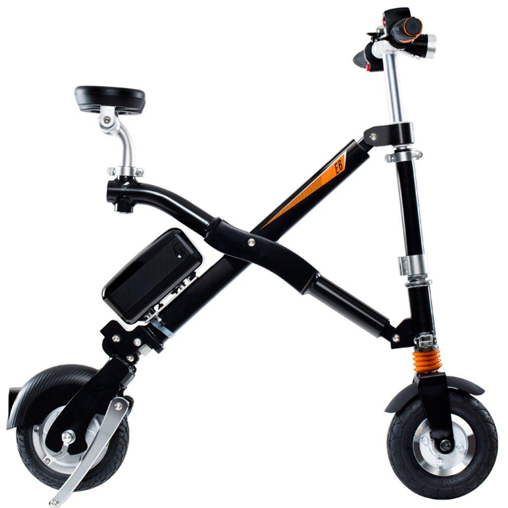 Airwheel E6 Bicicleta Eléctrica Plegable con Batería Desmontable (Negro): Amazon.es: Deportes y aire libre