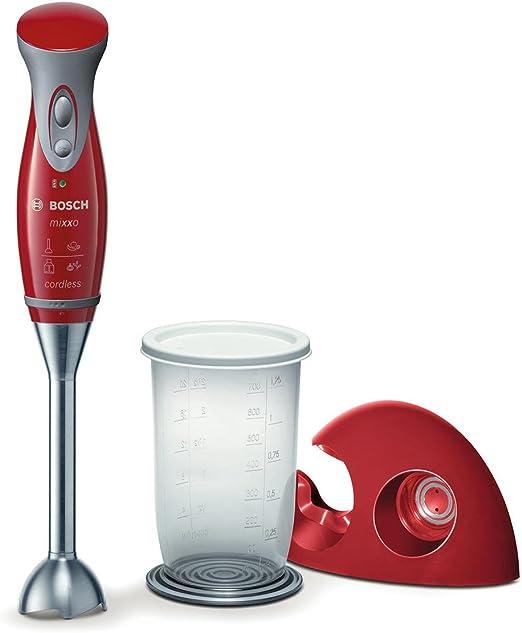 Bosch mixxo Food Processor, Rojo, 1260 g - Robot de cocina: Amazon ...