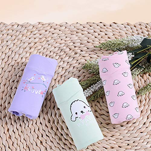 Cute per incinta Slip Animals 3PCS cotone morbido mutande modello L casuale in donna L con rxZqrfant
