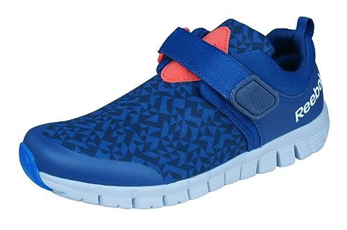 Reebok Z Fly Kids Niñas corriendo zapatillas de deporte-Blue-30.5 LABPTBIe