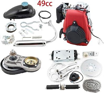 Kit de motor de 4 tiempos de 49 cc, kit de motor de bicicleta de 4 ...