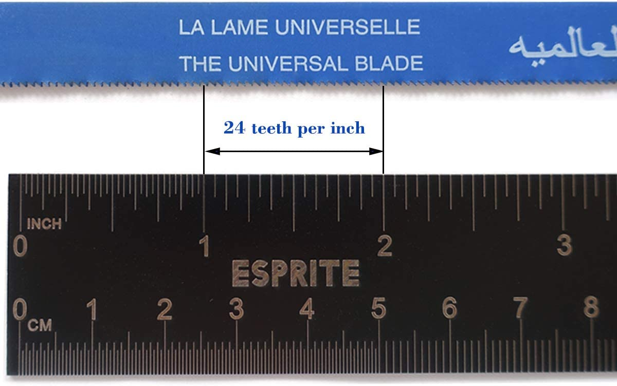 24 Tpi Hacksaw Blade 20 PCS Hacksaw Blade 12 Inch