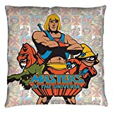 Masters Of The Universe Sci-Fi Action Movie Comic Series Heroes Throw Pillow