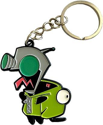 Gir - Invader Zim Keychain