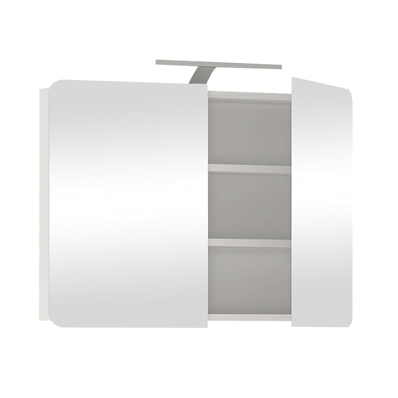 Furniture To Go Chelsea 2-Door-Door Wall Unit, 80 x 69 x 16 cm, White Gloss Wojcik 4021044P