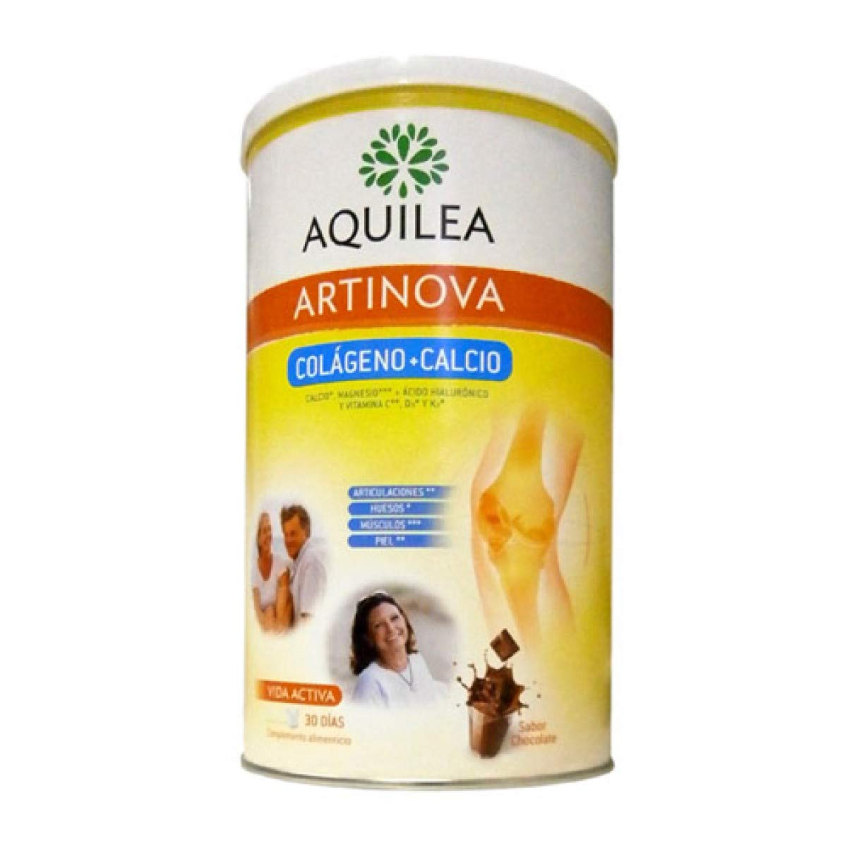 Amazon.com: Aquilea Artinova Collagen + Calcium 495g - Strengthens Bones & Joints - Increases The Level of Collagen & Calcium in Your Body - Provides ...