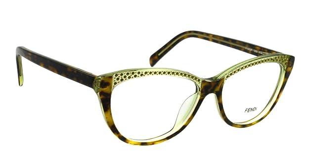 df3f7a2340a Amazon.com  Fendi Eyeglasses F 1003R HAVANA 220 F1003R  Fendi  Shoes