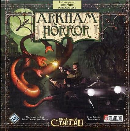 Giochi Uniti Arkham Horror - Juego de Mesa (en Italiano): Amazon.es: Juguetes y juegos