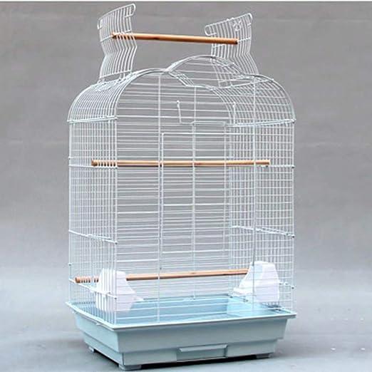 GL-birdcage Jaula de pájaros Grande de Metal Jaula Abierta para ...