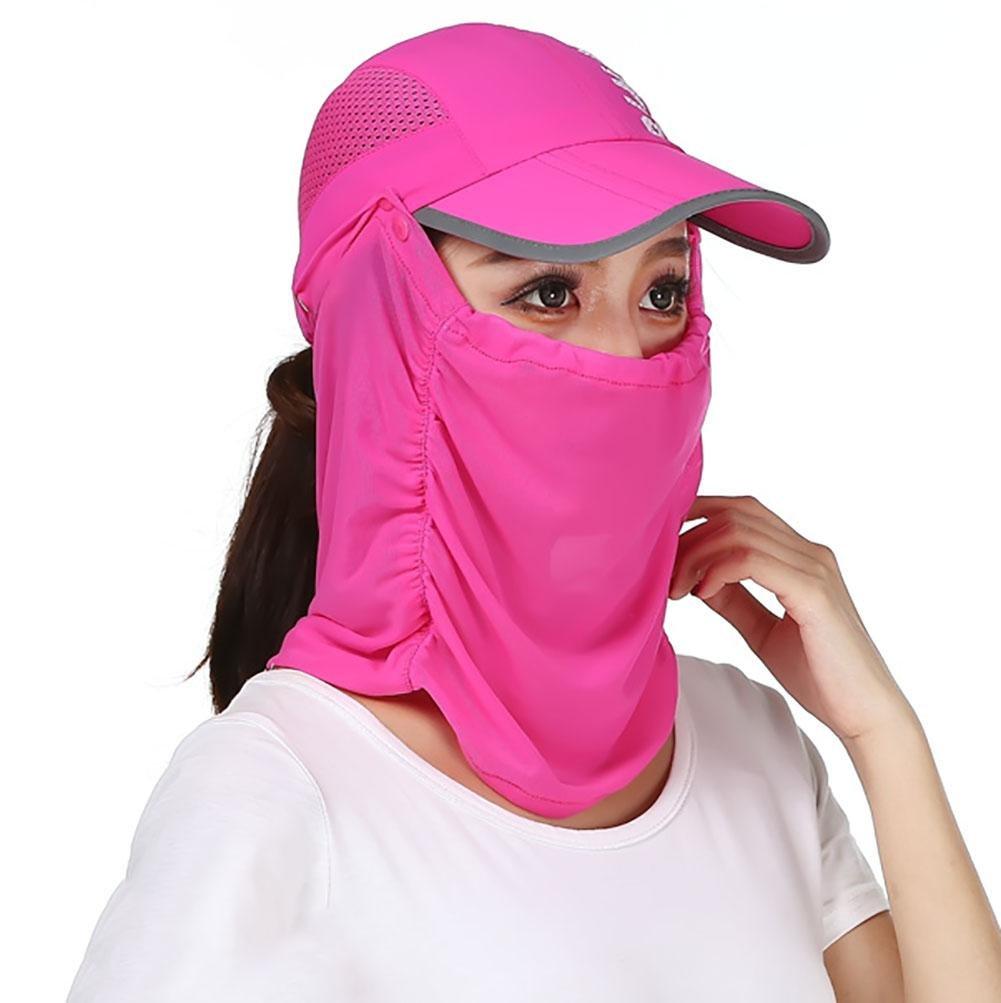 YUYI Outdoor Sunscreen Anti-Moskito Sunscreen Anti-UV Dry Cap