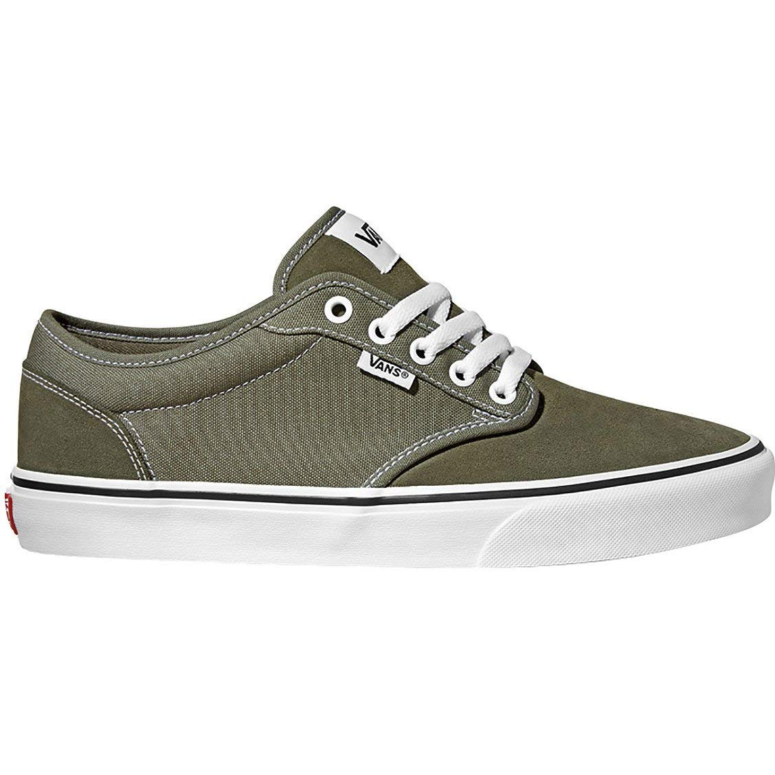 f4750ab89132d6 Galleon - Vans Atwood Shoes 11.5 B(M) US Women   10 D(M) US Suede Canvas  Green
