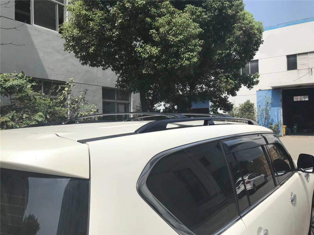 KPGDG Fit for Nissan Armada 2017 2018 2019 Aluminium Crossbar Cross Bar Baggage Luggage Racks Roof Racks Rail Bar Black
