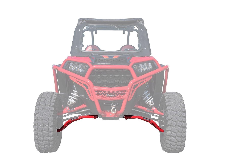 Super ATV Rojo Inferior Polaris RZR xp 1000 alta Remoción A-Arms # aa-p-rzr1 K-hc-03: Amazon.es: Coche y moto