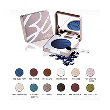 43a59cbb1244 Amazon.com  BioNike Defence Color Eyeshadow Compact Colour 403 Prune ...
